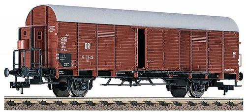 Fleischmann Spur N 8709 K offener Güterwagen mit Bremserbühne der DR