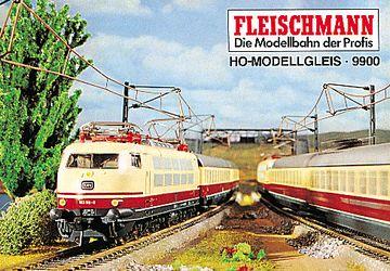 Fleischmann H0 6026 Modellgleis Gebogenes Gleis R = 357,5 mm