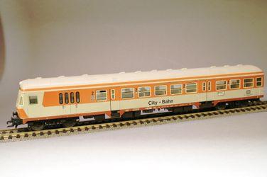FLM 5123 DB IV BDnrzf 784 Nahverkehrs-Steuerwagen 2  Klasse